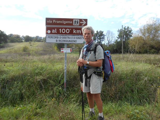 Jacques Lepoutre - Via Francigena 2015