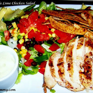 Mother Rimmy's Chipotle Tequila-Lime Chicken Salad.