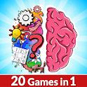 Brain IQ Logic: Puzzle Challenge - 20 classic game icon