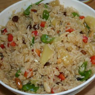 Indonesian Rice Salad.