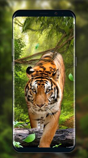 Moving Tiger Live Wallpaper screenshots 2