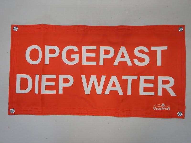 Waarschuwingsvlag: Diep Water