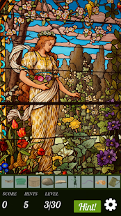 Hidden Object - Stained Glass- screenshot thumbnail