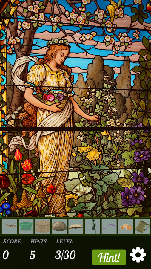Hidden Object - Stained Glass- screenshot