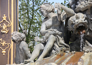 Photo: Day 23 - Part of the Ornate Fountain in Nancy #3