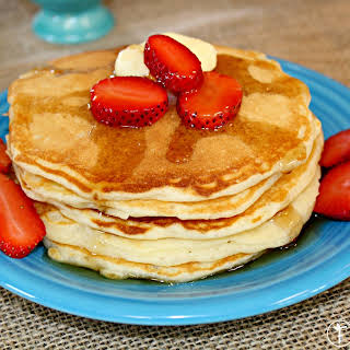 Super Simple Buttermilk Pancakes.