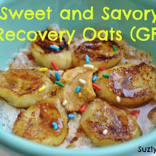 Sweet and Savory Recovery Oatmeal