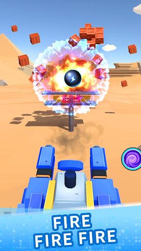 Color ball blast:merge tank and knock down blocks ss2