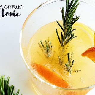 Rosemary Citrus Gin and Tonic.