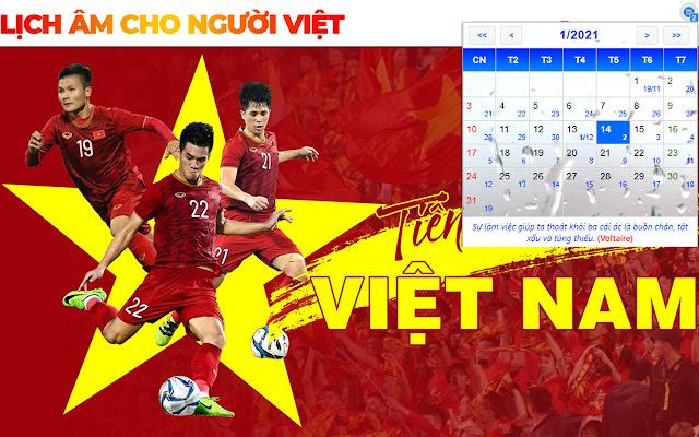 Âm Lịch Việt Nam - Lịch Âm Cho Người Việt