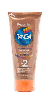 PROTECTOR SOLAR TANGA   SUN ACTIVE DEFENSE GEL SPF2 X200ML.