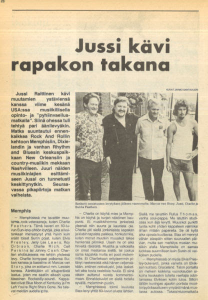 Uusi Laulu 4/1975-sivu