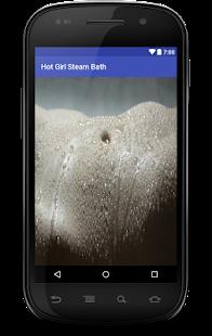 Hot girl Steam Bath Live Wallpaper - náhled