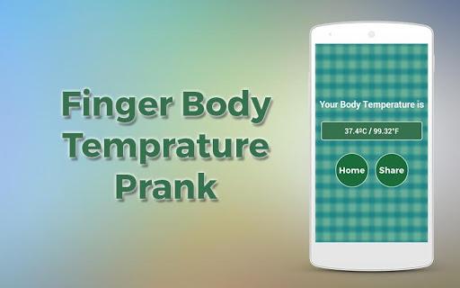 Finger Body Temprature Prank 1.0 screenshots 8