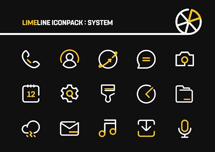 LimeLine Icon Pack : LineX (MOD, Paid) v1.9 1