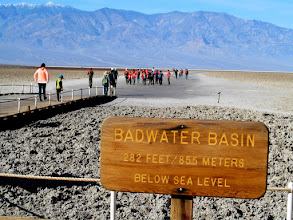 Photo: Badwater Basin sign