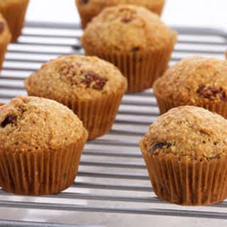 Healthy Bran Mini Muffins.