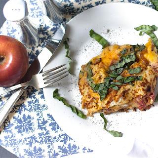 Breakfast Basil Omelette