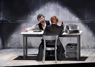 Photo: Salzburger Osterfestspiele 2015: CAVALLERIA RUSTICANA. Premiere 28.3.2015, Inszenierung: Philipp Stölzl. Jonas Kaufmann, Stefania Toczyska. Copyright: Barbara Zeininger