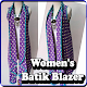 Women's Batik Blazer Download for PC MAC