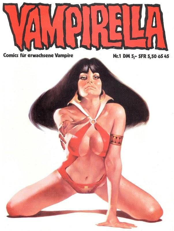 Vampirella (1981) - komplett