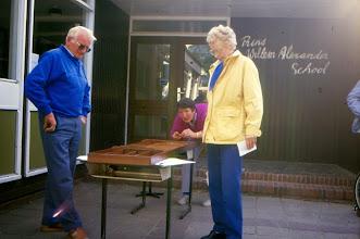 Photo: Hendrik Vedder, Willy Homan en Lies Doornbusch