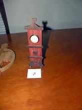 Photo: Ruth's clock entry
