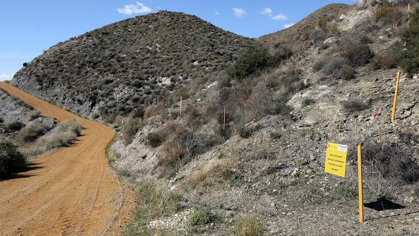 Terrenos contaminados en Palomares en una imagen de archivo.