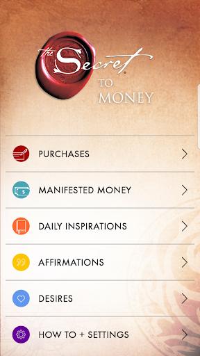 The Secret To Money by Rhonda Byrne screenshot