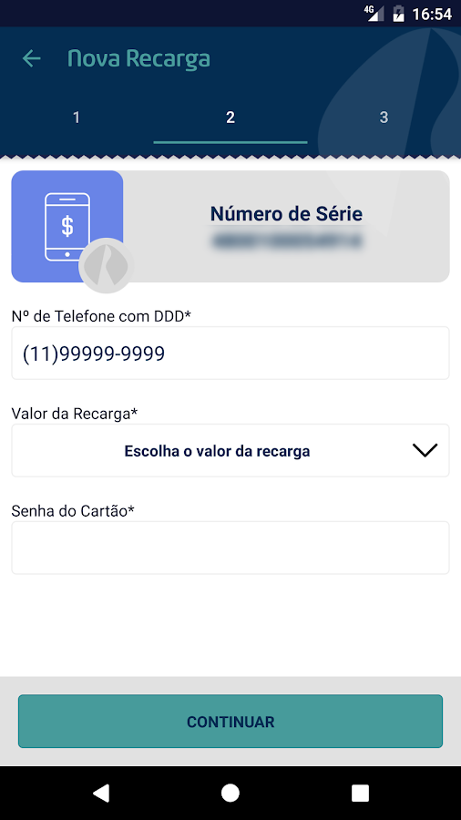 Banco Rendimento- screenshot