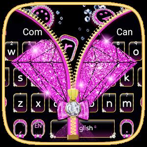 Diamond Ziplock Keyboard Theme for PC