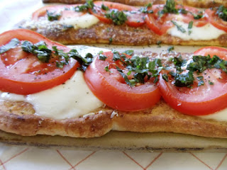 Caprese Pizzas Recipe