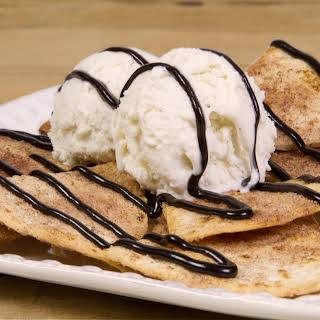 Hot Fudge Dessert Nachos.