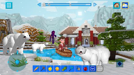 Terra Craft: Build Your Dream Block World modavailable screenshots 4
