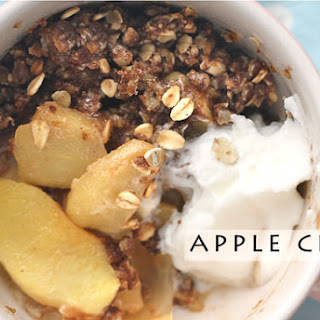 Easy Apple Crisp with 3-Minute Microwave in Mug Option