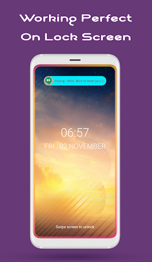 Edge Lighting Premium : Notification, Rounded Corner