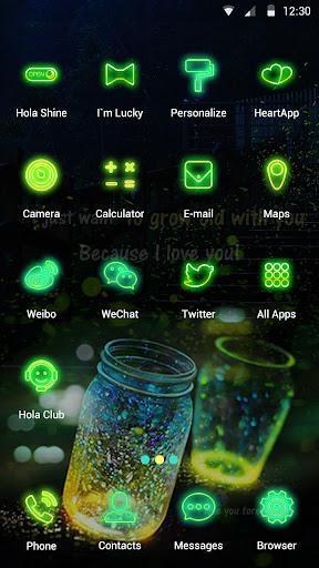 免費下載工具APP|夏の蛍-Holaテーマ app開箱文|APP開箱王