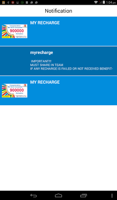#15. My Recharge With Live Supports (Android)
