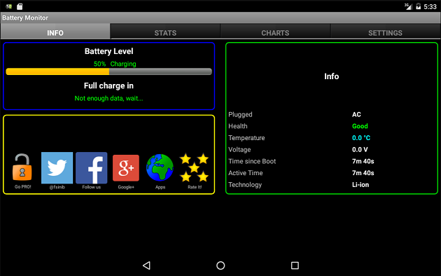 Battery Monitor Widget Pro- screenshot