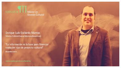 Photo: Enrique Luis Gallardo Mantas - Autoempleo y políticas de financiación @fabricacultural