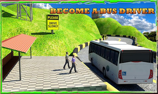 Hill Bus Driver Simulator 3D