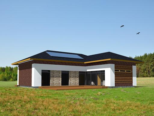projekt domu Saltsjobaden 3