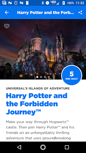 Universal Orlando Resort™ The Official App 1.30.0 screenshots 1