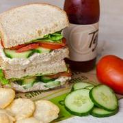 Albacore Tuna Salad Half Sandwich