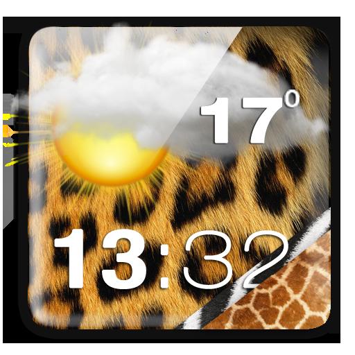 動物印花时钟和天气 天氣 App LOGO-APP開箱王
