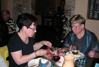 Photo: 018 Sa Schironada-ravintolassa Anne ja Marjut.