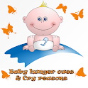 Baby hunger cues & Cry reasons icon