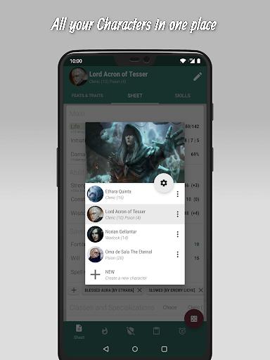 The 20 - RPG Companion App apktram screenshots 2
