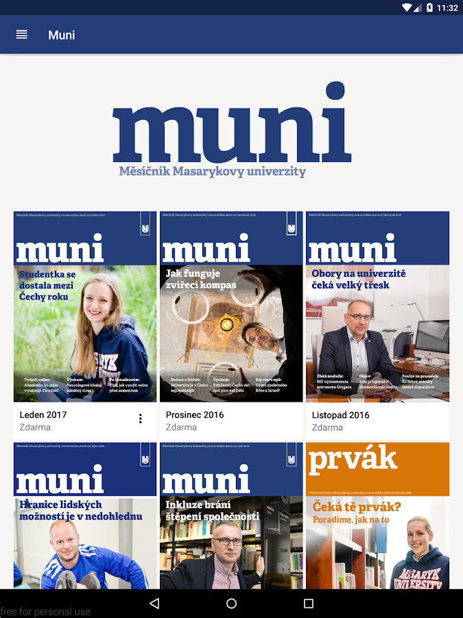 Muni- screenshot