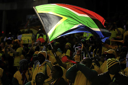 Gratuitous display of old SA flag is hate speech, court finds